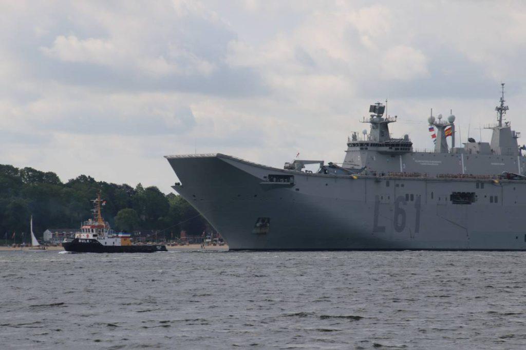 Flugzeugträger Juan Carlos I BALTOPS 2019