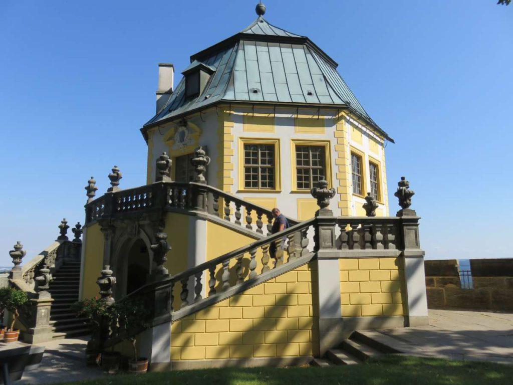 Luisthaus Friedrichsburg Festung Königstein