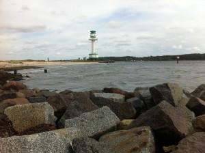 Leuchtturm Friedrichsort an der Kieler Förde