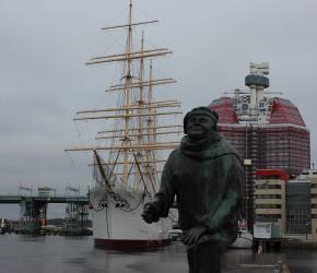 Göteborg Lilla Bommen Hafen