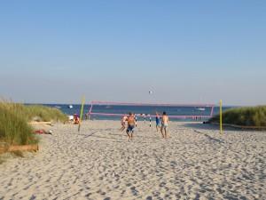 Grömitz Beach Volleyball direkt an der Ostsee