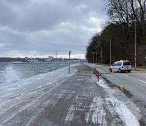 Hochwasser Kiellinie Kiel
