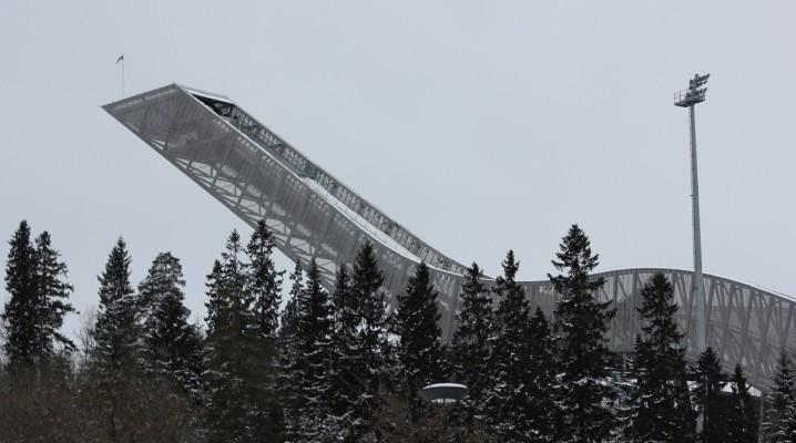 Holmenkollbakken Skisprungschanze am Holmenkollen in Oslo