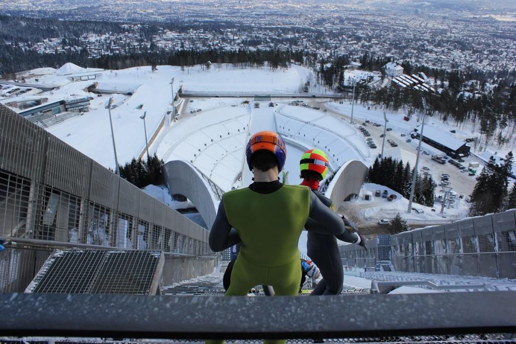 Holmenkollbakken Skisprungschanze Oslo