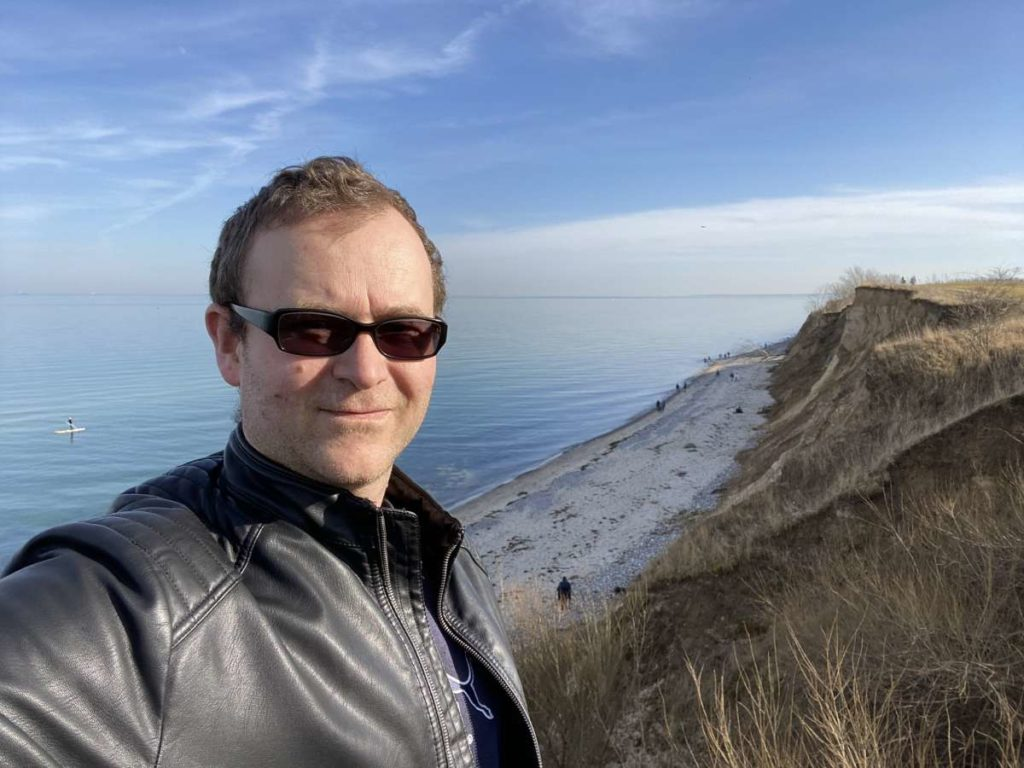 Steilküste Dänisch-Nienhof Ostsee & Strand