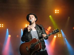 Johannes Oerding Kieler Woche Konzert 2015 am Ostseekai Kiel an der NDR-Bühne
