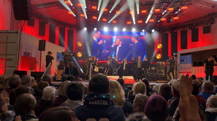 Johannes Oerding & Peter Maffay in Kiel Tag der Einheit 03.10.2019