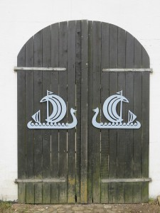 Jomsburg Eingangstor