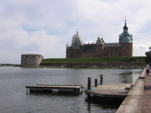 Schloss Kalmar in Schweden an der Ostsee