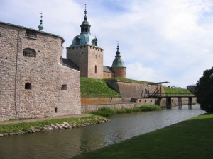 Schloss Kalmar Wassergraben