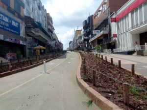 Luwumu Street in Kampala Uganda