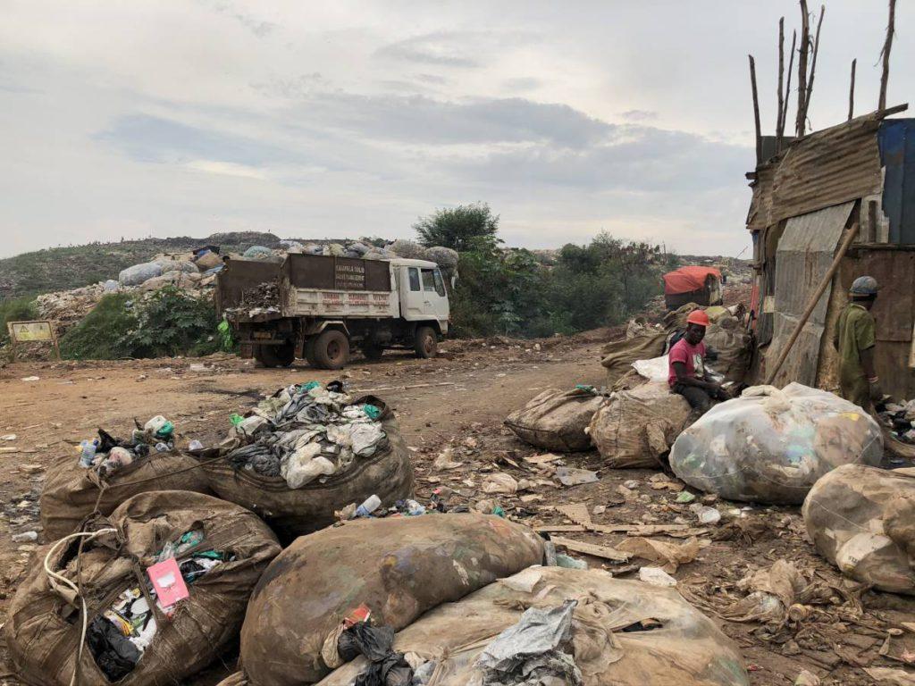 Kampala Mülldeponie Kiteezi Landfill in Uganda