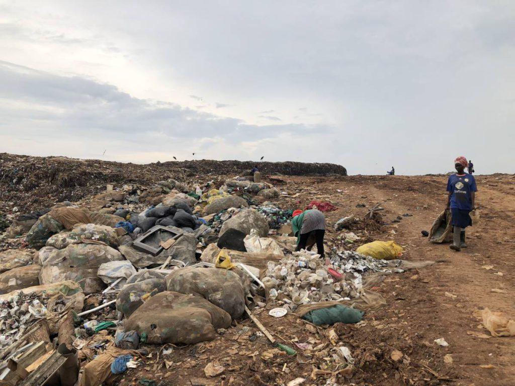 Mülldeponie Kampala Kiteezi Landfill - größte Mülldeponie in Ostafrika