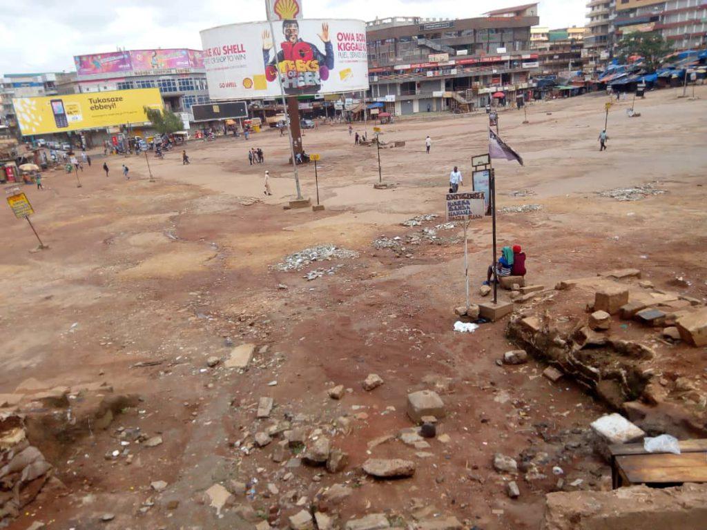 Kampala Old Taxi Park Lockdown