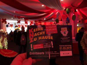 Keine Nacht zu Hause 2019 am 01.03.2019 im Theater am Tanzbrunnen Köln