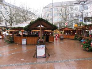 Kiel historischer Weihnachtsmarkt Alter Markt