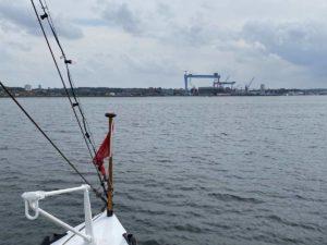 Kiel Hafenrundfahrt auf der Kieler Förde