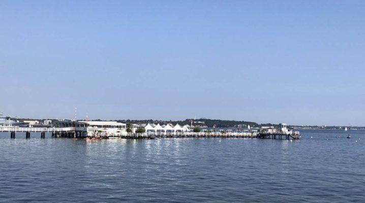 Seebar Kiel an der Kieler Förde