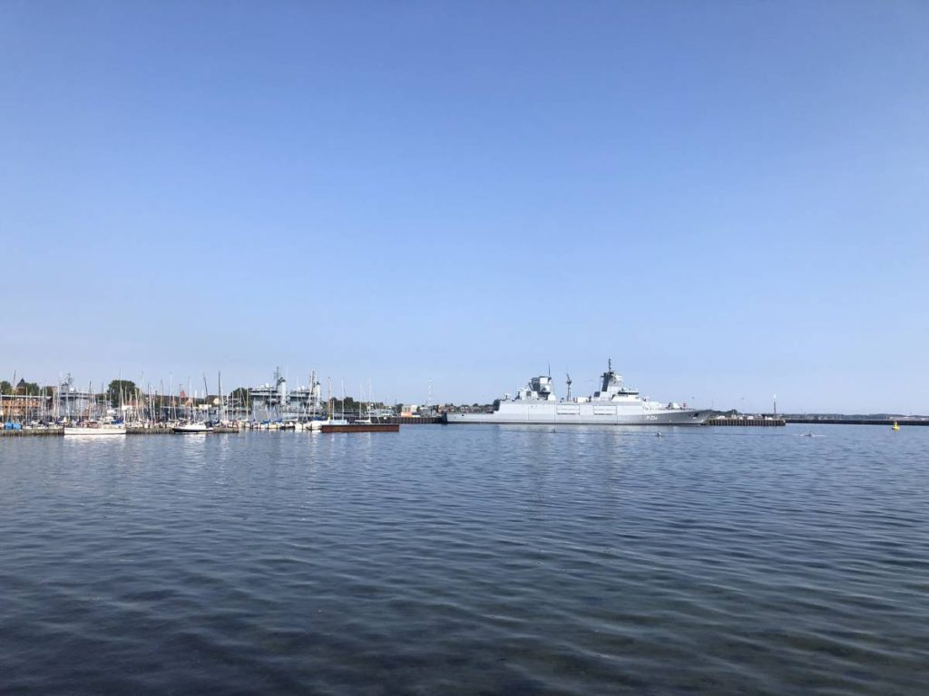 Kieler Förde Tirpitzhafen Marinestützpunkt