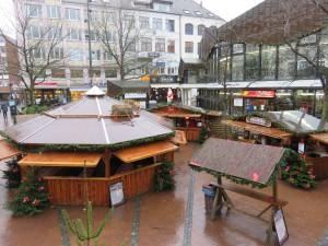 Kieler Weihnachtsmarkt am Alten Markt