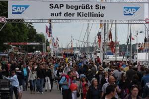 Kieler Woche 2013 - Kiellinie
