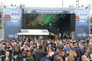 Kieler Woche 2015 Musikbühne an der Hörn
