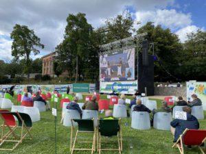 Schlossgarten Kieler Woche Eröffnung 2020