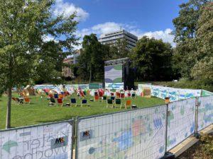 Kieler Woche 2020 Schloßgarten Konzert- und Kinofläche