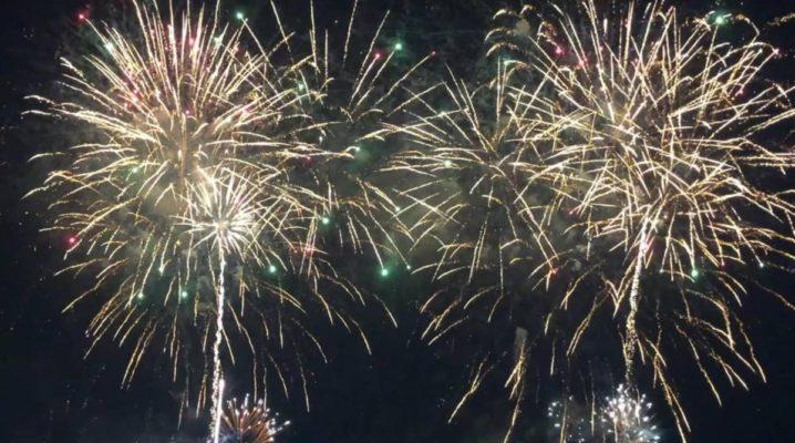Abschlussfeuerwerk Kieler Woche 2019