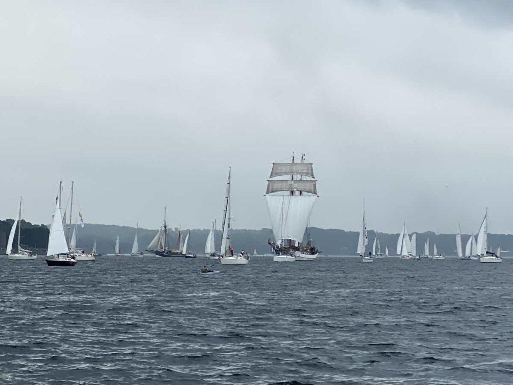Kieler Woche Windjammerparade 2021 Segelschiffe