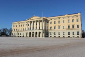 Königliches Schloss Oslo & Schlossplatz