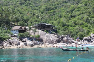 Bucht vor Koh Tao - beliebtes Schnorchelgebiet in Thailand