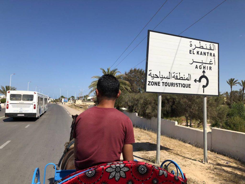 Unterwegs mit der Kutsche auf Djerba