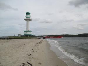 Friedrichsorter Leuchtturm an der Kieler Förde