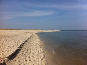 Strand am Leuchtturm Hörnum auf Sylt