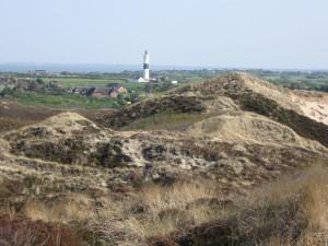 Leuchtturm Kampen auf Sylt & Dünenlandschaft