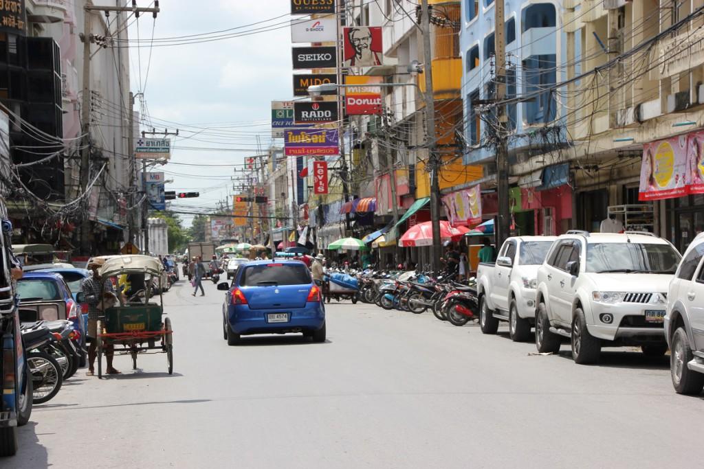 Straße in Lop Buri