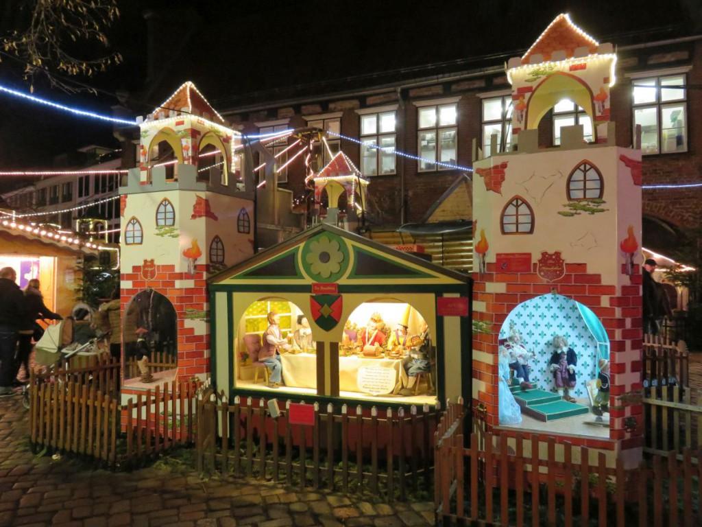 Märchenwald auf dem Lübecker Weihnachtsmarkt