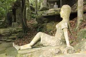 Skulpturen im Magic Garden Koh Samui