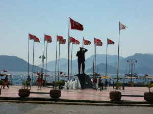 Denkmal in Marmaris