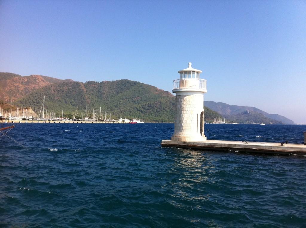 Marmaris Leuchtturm am Yachthafen