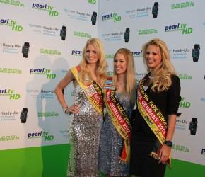 Miss Germany 2011, 2012 und 2013 auf der CeBIT Hannover