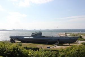 Museums-U-Boot U-995 in Laboe