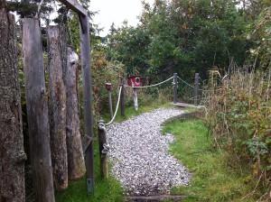 Tast- und Schnupperpfad im NABU Wasservogelreservat Wallnau auf Fehmarn