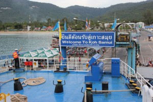 Nathon Pier - Welcome to Koh Samui