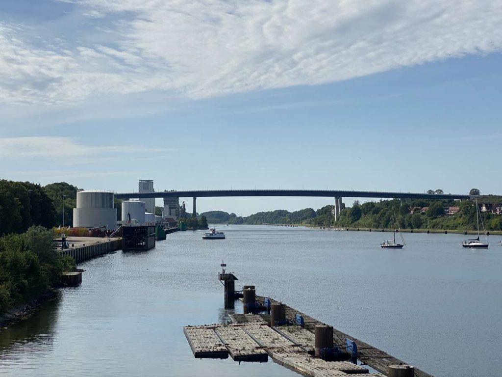 Nord-Ostsee-Kanal & Holtenauer Hochbrücken