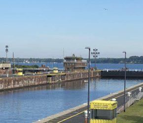 Nord-Ostsee-Kanal Schleuse Kiel