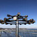 Olympisches Feuer Olympiahafen Schilksee