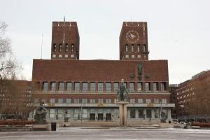 Oslo Rathaus - Wahrzeichen der norwegischen Hauptstadt