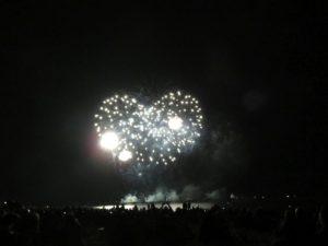 Ostsee Feuerwerk Grömitz 2018